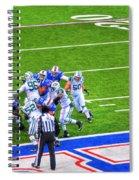 0016  Buffalo Bills Vs Jets 30dec12 Spiral Notebook