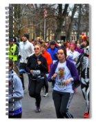 0016 Turkey Trot 2014 Spiral Notebook