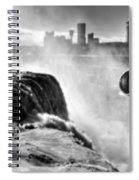 0016a Niagara Falls Winter Wonderland Series Spiral Notebook