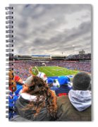 0017 Buffalo Bills Vs Jets 30dec12 Spiral Notebook