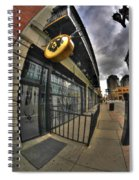 0017 The Lodge  Spiral Notebook