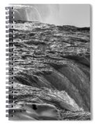 0017a Niagara Falls Winter Wonderland Series Spiral Notebook