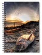 002 After The Ice Melts Erie Basin Marina Series Spiral Notebook
