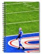 002 Buffalo Bills Vs Jets 30dec12 Spiral Notebook