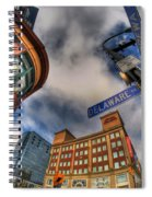 002 Delaware And Chipp Spiral Notebook