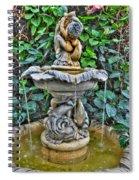 002 Fountain Buffalo Botanical Gardens Series Spiral Notebook