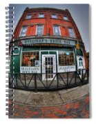 002 Mulligans Brick Bar Spiral Notebook