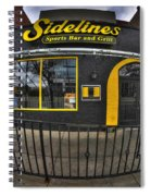 002 Sidelines Sports Bar And Grill Spiral Notebook
