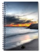 0020 Awe In One Sunset Series At Erie Basin Marina Spiral Notebook