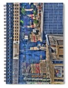 0022 Visual Highs Of The Queen City Spiral Notebook