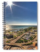 0023 Visual Highs Of The Queen City Spiral Notebook
