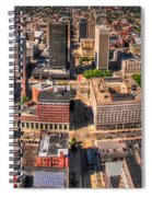0023a Visual Highs Of The Queen City Spiral Notebook