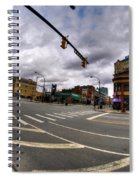 0027 Delaware And The Chipp Stripp  Spiral Notebook