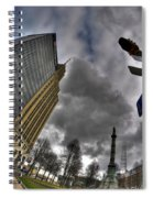 0028 Main And Lafayette Spiral Notebook