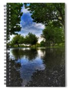 003 After The Rain At Hoyt Lake Spiral Notebook