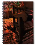 003 Christmas Light Show At Roswell Series Spiral Notebook