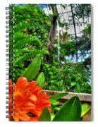 003 Falling Waters Buffalo Botanical Gardens Series Spiral Notebook