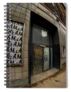 0034 Throwback Shopping Center Of Am And As Spiral Notebook