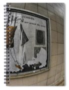 0035 Throwback Shopping Center Of Am And As Spiral Notebook