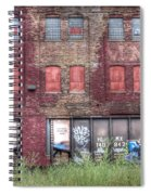 0037 Abandoned Warehouse Spiral Notebook