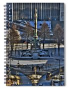 0037 Birdseye View Of Lafayette Square Spiral Notebook
