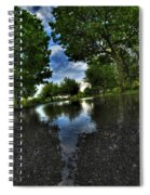 004 After The Rain At Hoyt Lake Spiral Notebook