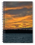 004 Awe In One Sunset Series At Erie Basin Marina Spiral Notebook
