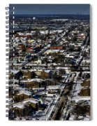 0042 After The Nov 2014 Storm Buffalo Ny Spiral Notebook