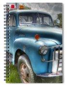 0042 Old Blue 2 Spiral Notebook