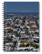 0043 After The Nov 2014 Storm Buffalo Ny Spiral Notebook