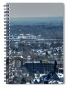 0045 After The Nov 2014 Storm Buffalo Ny Spiral Notebook
