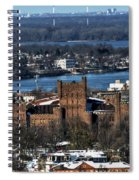 0048 After The Nov 2014 Storm Buffalo Ny Spiral Notebook