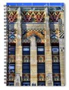 0049 Art Deco City Hall Spiral Notebook
