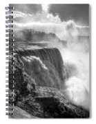 004a Niagara Falls Winter Wonderland Series Spiral Notebook