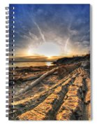 005 After The Ice Melts Erie Basin Marina Series Spiral Notebook