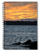 005 Awe In One Sunset Series At Erie Basin Marina Spiral Notebook