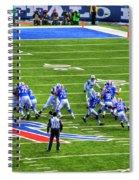 005 Buffalo Bills Vs Jets 30dec12 Spiral Notebook