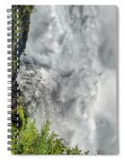 005 Niagara Falls Misty Blue Series Spiral Notebook
