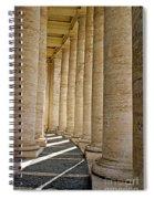 0056 Roman Pillars St. Peter's Basilica Rome Spiral Notebook