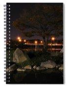 006 Japanese Garden Autumn Nights   Spiral Notebook
