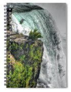 006 Niagara Falls Misty Blue Series Spiral Notebook