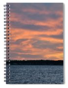 007 Awe In One Sunset Series At Erie Basin Marina Spiral Notebook