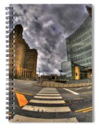007 City Hall And The Court House Spiral Notebook