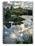 007 Delaware Park Japanese Garden Mirror Lake Series Spiral Notebook