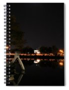 007 Japanese Garden Autumn Nights   Spiral Notebook
