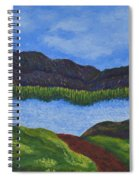 007 Landscape Spiral Notebook