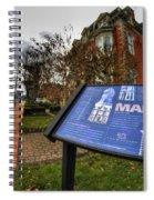 007 Mansion On Delaware Ave Spiral Notebook