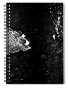 007 Melting Snow Spiral Notebook