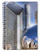 0077 Millennium Park Chicago Spiral Notebook