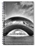 0079 The Bean - Millennium Park Chicago Spiral Notebook